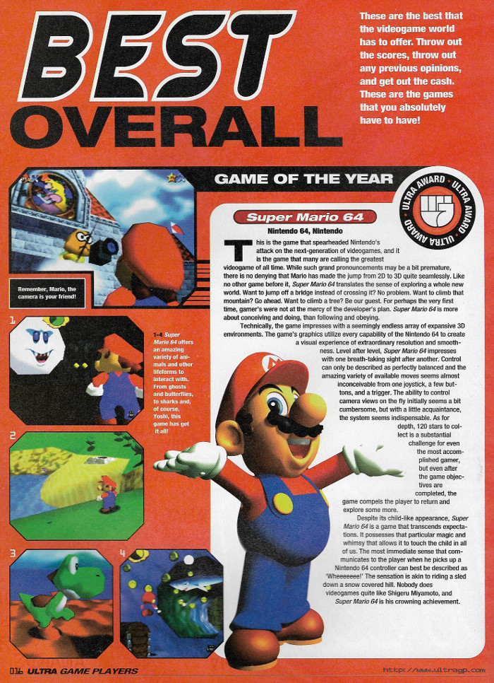 Super Mario 64 - Ultra Game Players