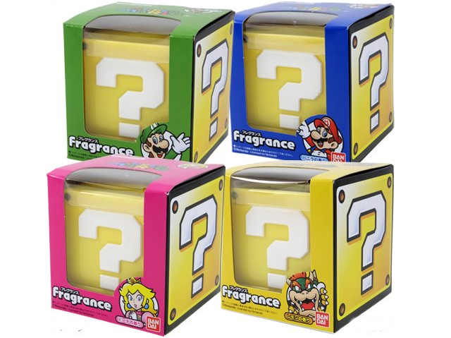 The Super Mario Bros  Fragrance Collection Made Us Wonder