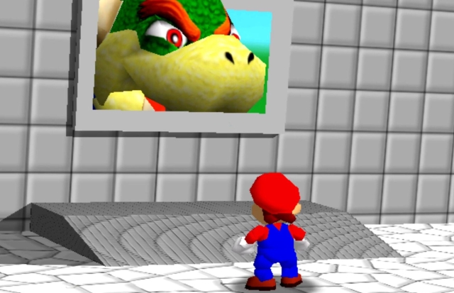 super mario 64 bowser room