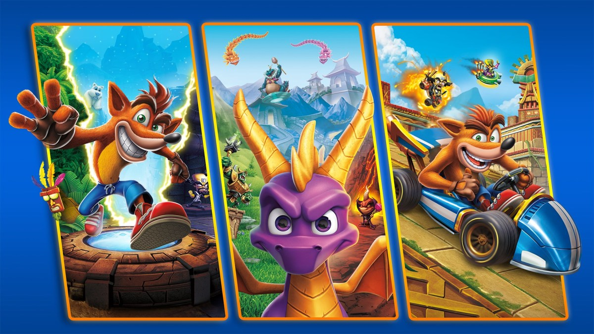Crash + Spyro Triple Play Bundle