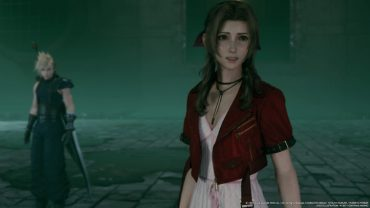 Final Fantasy VII - Aerith Horse Laugh