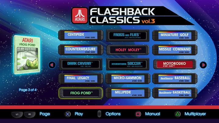 Atari Flashback Classics Vol. 3