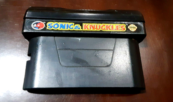 Sonic and Knuckles Cartridge