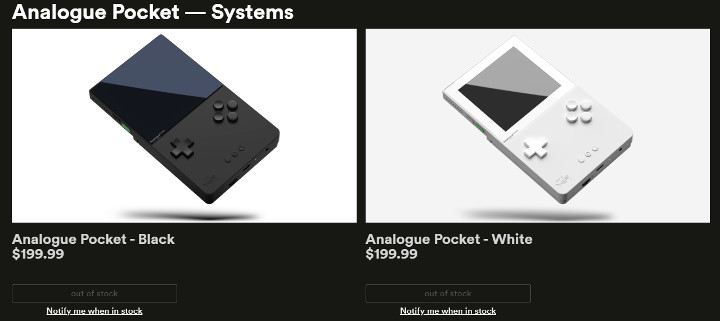 Analogue Pocket - Sold Out