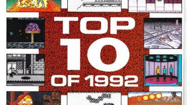 Nintendo Power - Top 10 of 1992