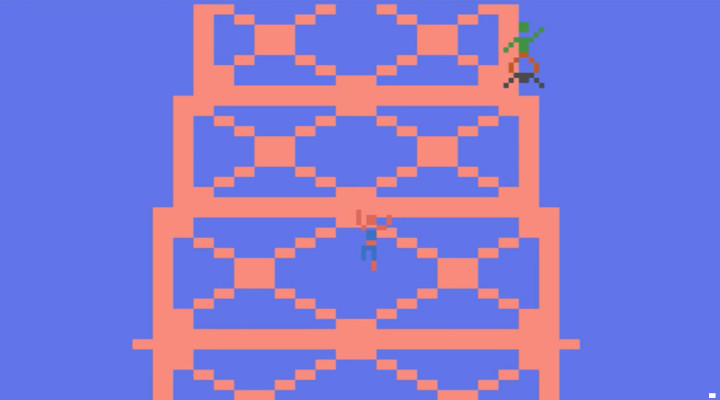 Spider-Man Atari Game