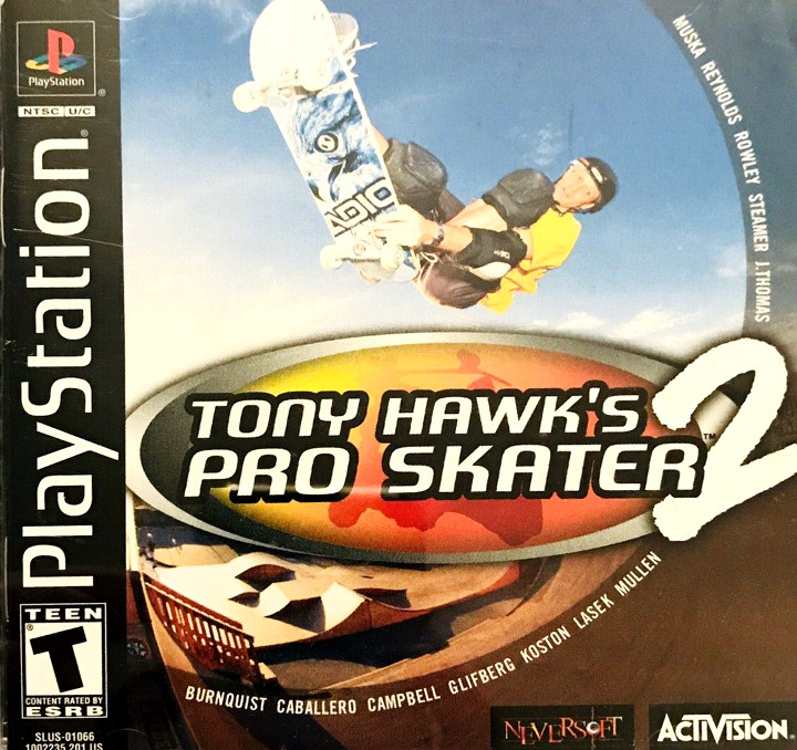 Tony Hawk's Pro Skater 2 cover art