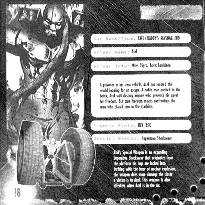 Twisted Metal Game Manual