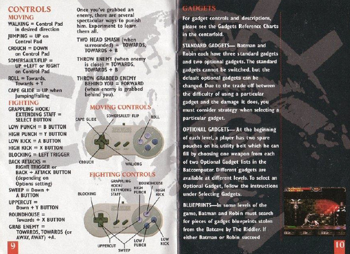 Batman Forever Game Manual