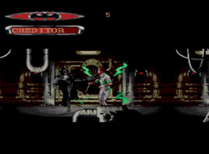 Batman Forever Genesis Game