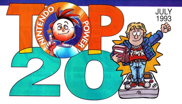 Nintendo Power - Top 20